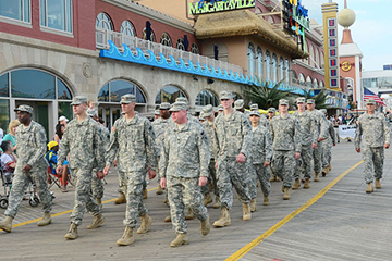 6th Annual Atlantic City Salutes America's Armed Forces Parade