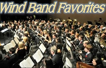 SJ Area Wind Ensemble Presents:  Band Favorites