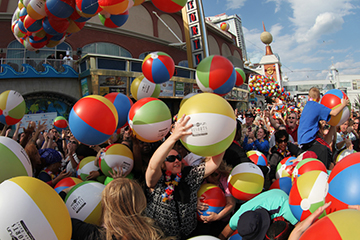 3rd Annual Beach Ball Drop