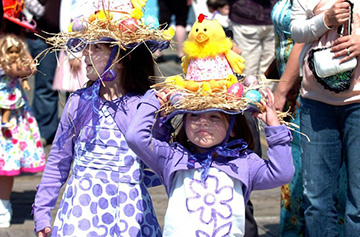 Easter Parade at Historic Smithville