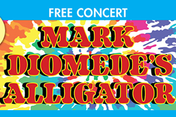Free Concert - Mark Diomede's Alligator