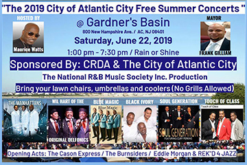 City of Atlantic City Free Summer Concert