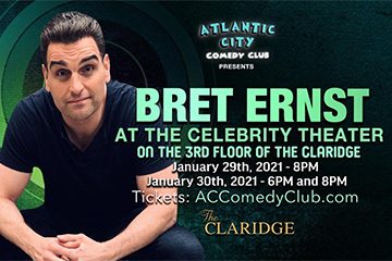 Bret Ernst at the Celebrity Theater