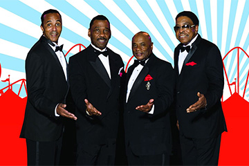 The Platters, Cornell Gunter's Coasters & The Drifters