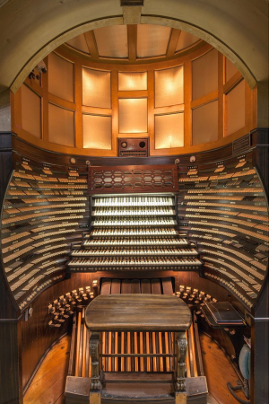 Daily Historic Pipe Organ Tours