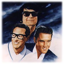 Buddy Holly, Roy Orbison and Elvis Presley Tribute