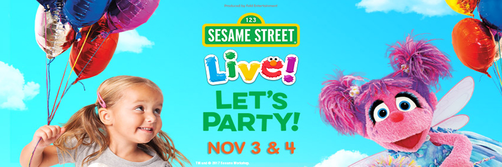 Sesame Street Live !  Let's Party !