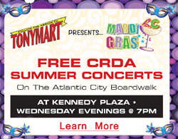 Free CRDA  Summer Concerts