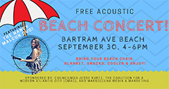 Free Acoustic Beach Concert