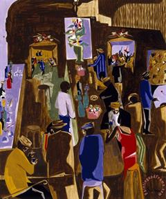 Jacob Lawrence Centennial Exhibition