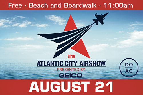 2019 Atlantic City Airshow presented by GEICO - DO AC - Free, Beach and Boardwalk