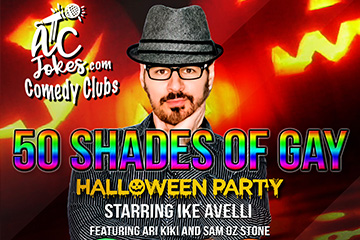 50 Shades of Gay Halloween Party Starring Ike Avelli featuring Ari Kiki and Same Oz Stone
