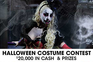 Halloween Costume Contest - 20K in Cash and Prizes