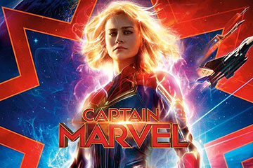 Marvel Studios Captain Marvel Movie Poster