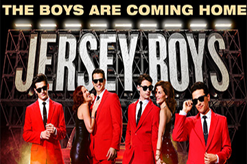 Jersey Boys - The boys are coming home!