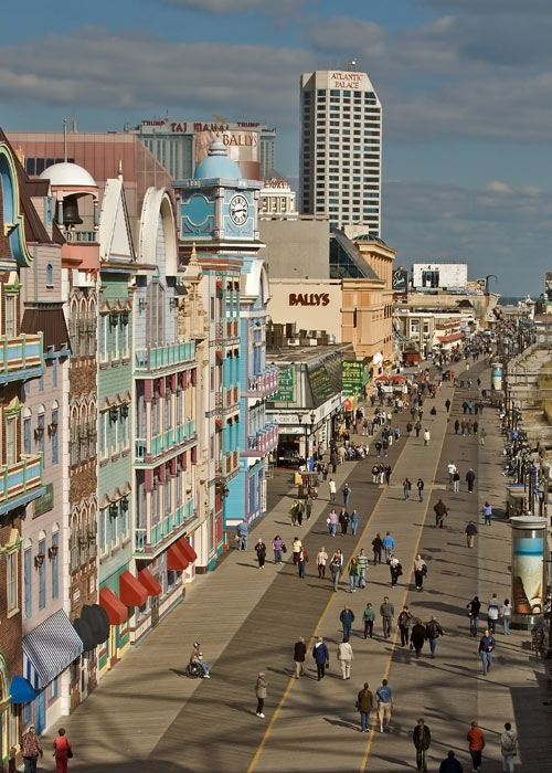 Atlantic City Boardwalk: A Stroll On the Wooden Way is Steeped in History