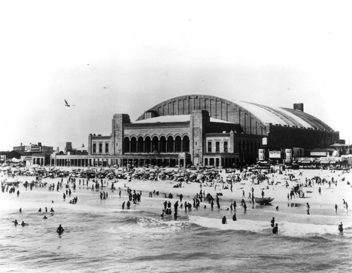 Historic Boardwalk Hall - Beach