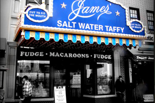James' Candy and Fralinger's Salt Water Taffy